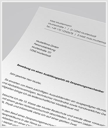 anschreiben fr ausbildung als zerspanungsmechaniker zum bewerbungsschreiben - Bewerbung Zerspanungsmechaniker